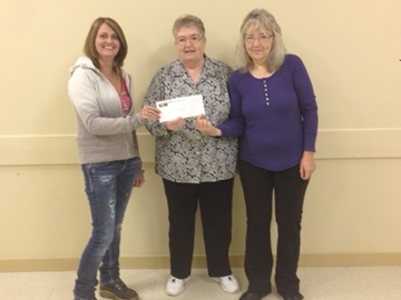 Canal Flats Food Bank WOS donation - Oct 2014.jpg